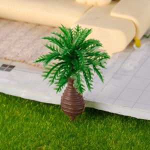 cây cau cọ mô hình