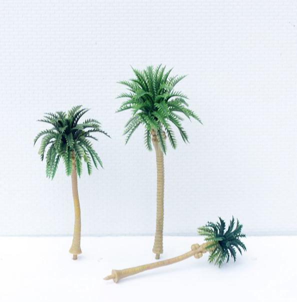 cây cau cọ mô hình mói