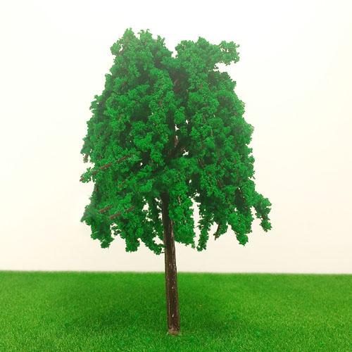 cây mô hình thân nhựa