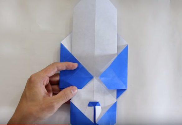 Cách gấp con gấu trúc bằng giấy Origami h5