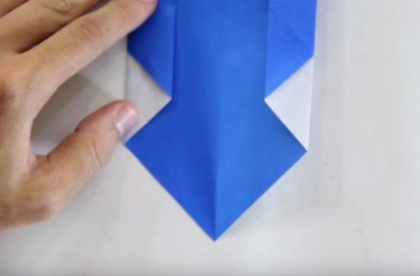 Cách gấp con gấu trúc bằng giấy Origami h6