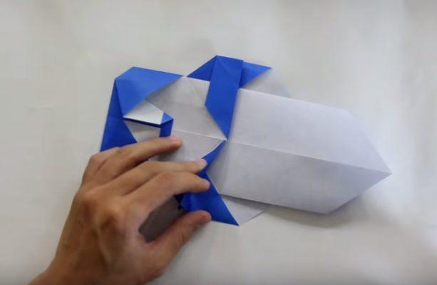 Cách gấp con gấu trúc bằng giấy Origami h7