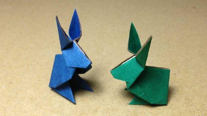 Cách gấp thỏ bằng giấy Origami