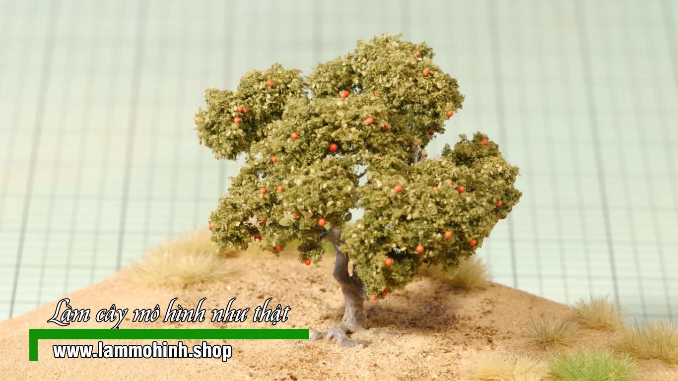Cách làm cây mô hình như thật