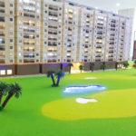 Cách làm thảm cỏ mô hình kiến trúc cực đẹp
