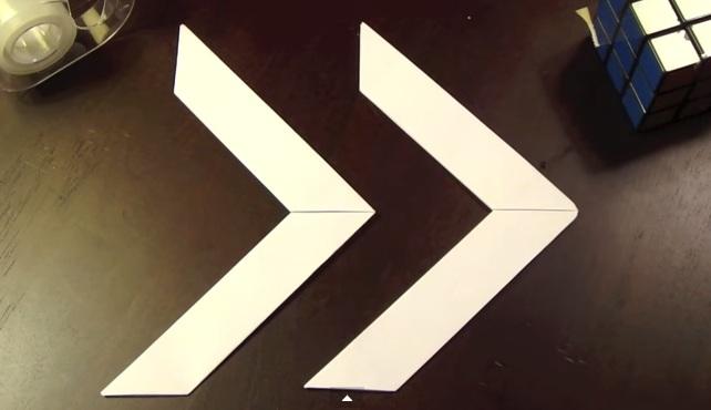 cách gấp vũ khí boomerang bằng giấy