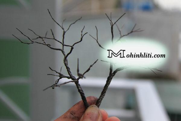 Cách làm cây mô hình kiến trúc đơn giản