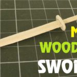 Hướng dẫn cách làm kiếm gỗ bằng que kem đẹp mắt
