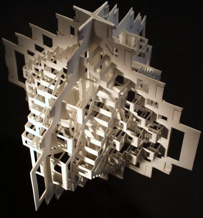 Mô hình kiến trúc bằng giấy