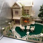Hướng dẫn làm mô hình nhà que kem
