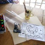 Hướng dẫn cách làm lồng đèn hình trái tim bằng giấy siêu dễ thương