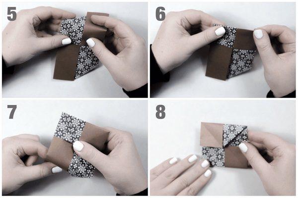 Gấp chong chong giấy Origami từ liti