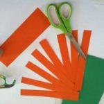 Hướng dẫn cách làm lồng đèn bí ngô bằng giấy hình cầu đơn giản