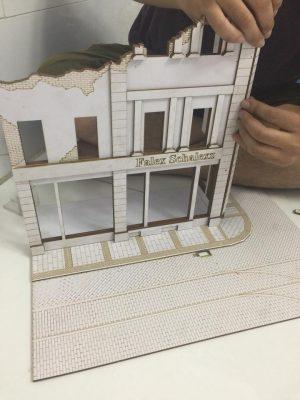 mô hình bằng giấy foam của liti