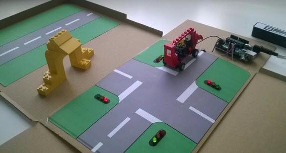 cách làm mô hình đèn giao thông