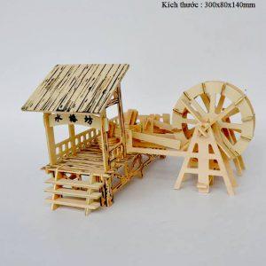 Mô hình bánh xe nước watering Wheel