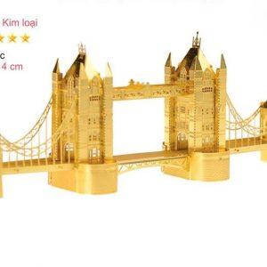 mô hình cầu london bridge kim loai