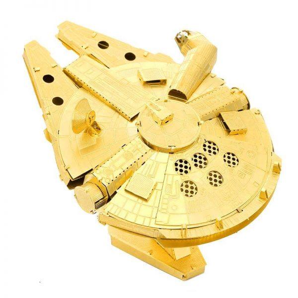 Mô hình con tàu vũ trụ bằng kim loại Gold