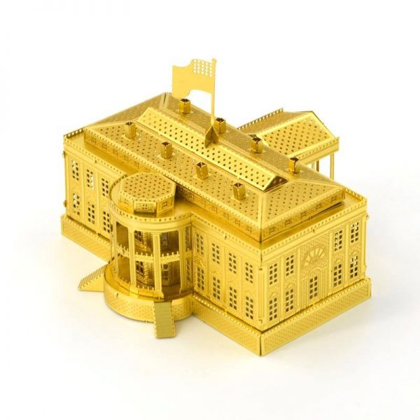 Mô hình Kim loại Nhà trắng tự tay lắp ráp
