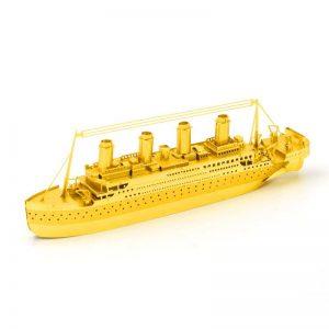 Mô hình Kim Loại Tàu TITANIC lắp ráp đơn giản