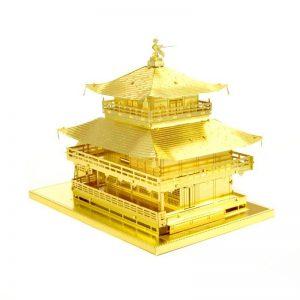 Mô hình ngôi đền KINKAKU JI ở nhật bản bằng Kim Loại Gold