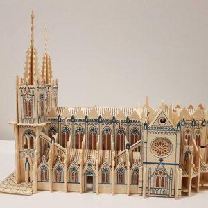 Nhà thờ Đức Bà Paris Mô hình