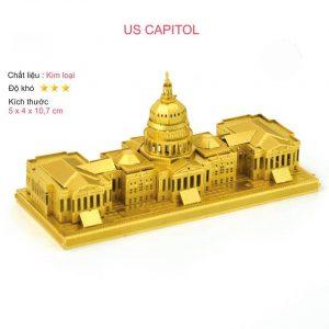 mô hình kim loại US CAPITOL