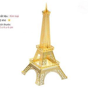Mô hình tháp EIFFEL TOWER kim loai