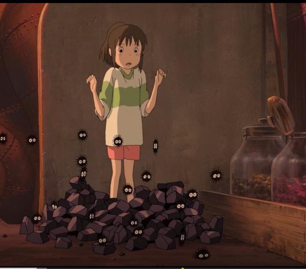 Nhân vật kiến đá trong phim vùng đất linh hồn