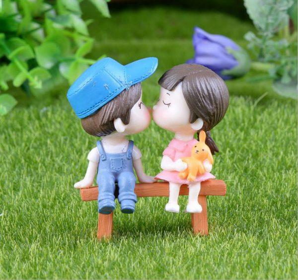 Cặp người mô hình búp bê tình nhân