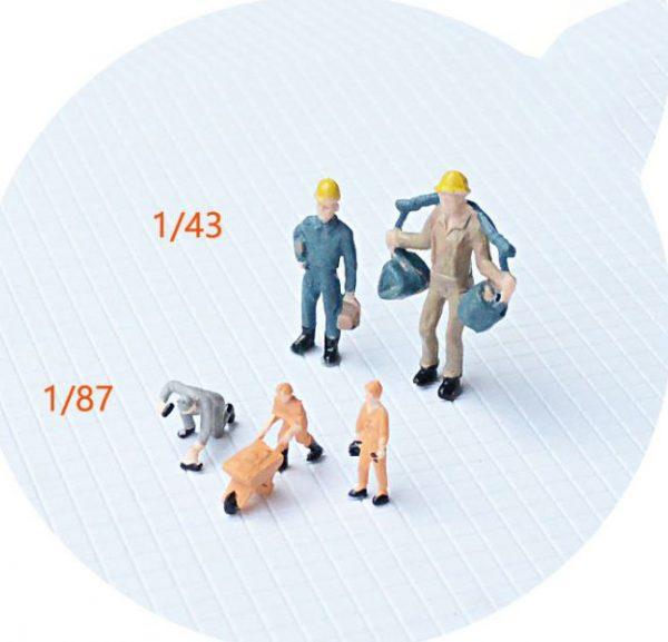 Mô hình người công nhân mẫu 1/87 VM06-19