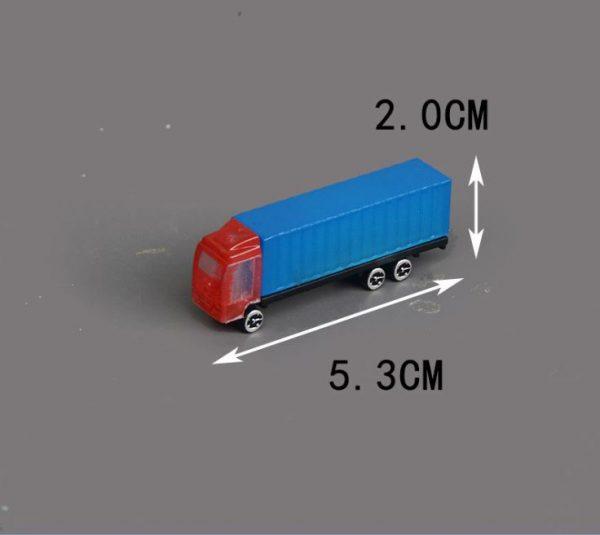 Xe tải container mô hình