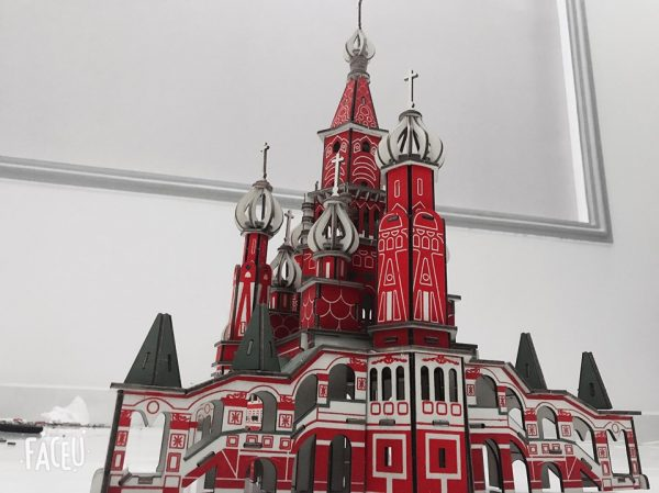Mô hình tòa lâu đài PENTERBURG