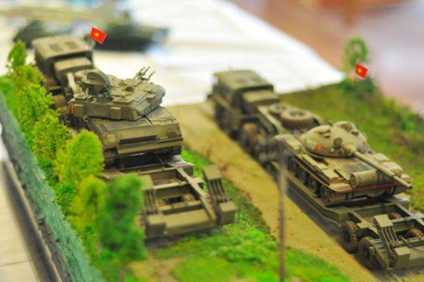 mô hình sa bàn quân sự