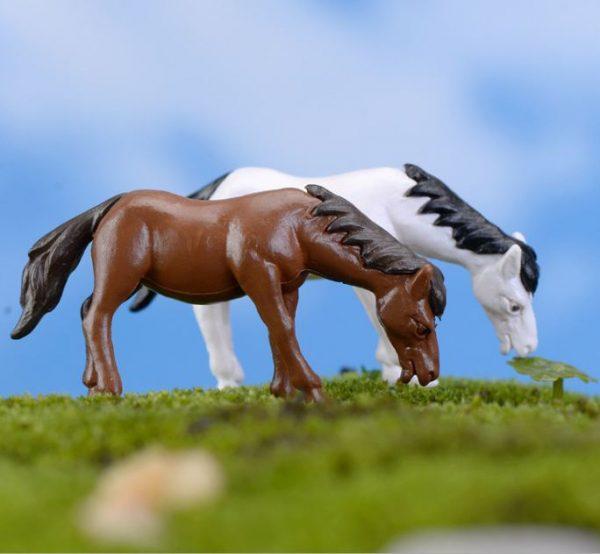 ngựa trang trí tiểu cảnh